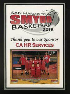San Marcos Youth Basketball 2018