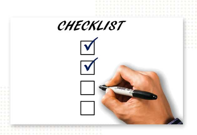 Covid Back to Work Plan Checklist